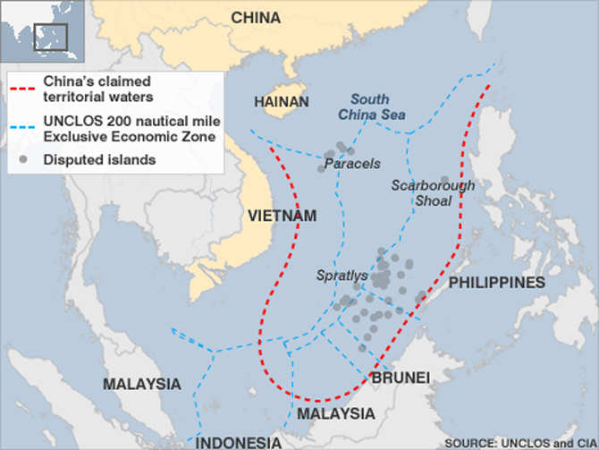 The Turbulent Waters of the South China Sea
