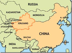 China's modernization and development programs for the Xinjiang province