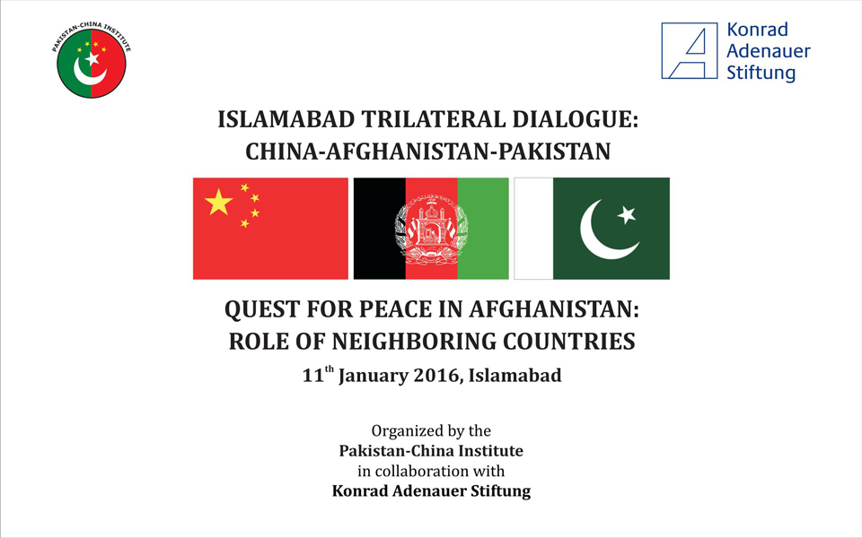 3rd CHINA-AFGHANISTAN-PAKISTAN TRILATERAL DIALOGUE