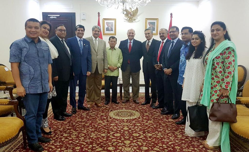 Delegation led by Senator Mushahid Hussain Sayed visits Jakarta