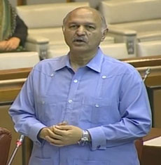 Senator Mushahid Hussain's Speech on June 11, 2015